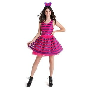 Cheshire Cat Tutu Costume Dress Adult Disney Parks